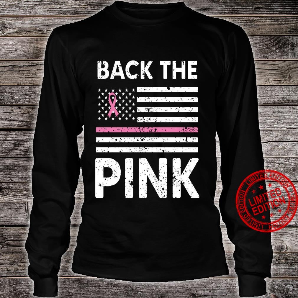 Back The Pink Shirt long sleeved