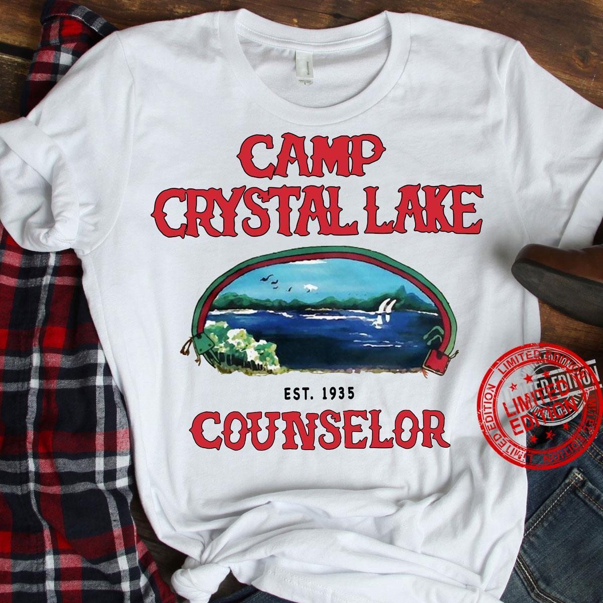 Camp Crystal Lake Counselor Shirt