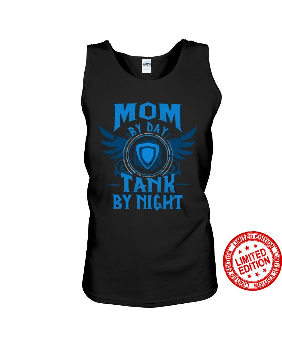 Mom By Day Tank By Night Shirt
