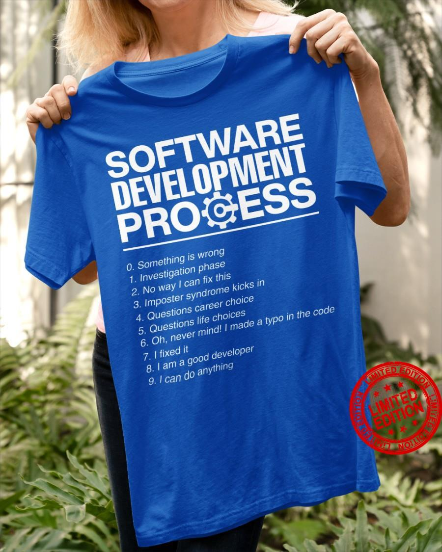 Software Development Process Shirt