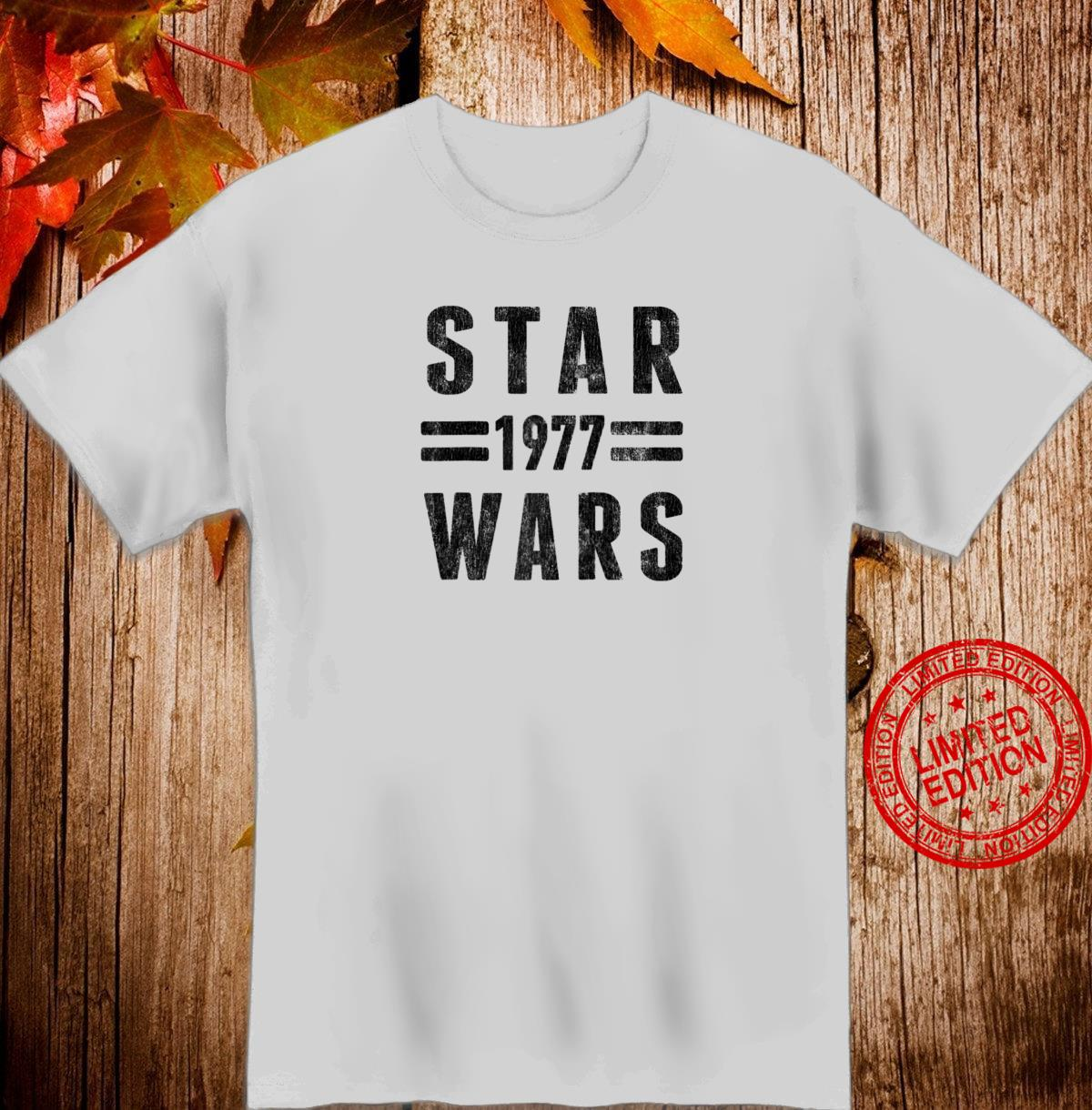 Star Wars 1977 Vintage Collegiate Retro Shirt