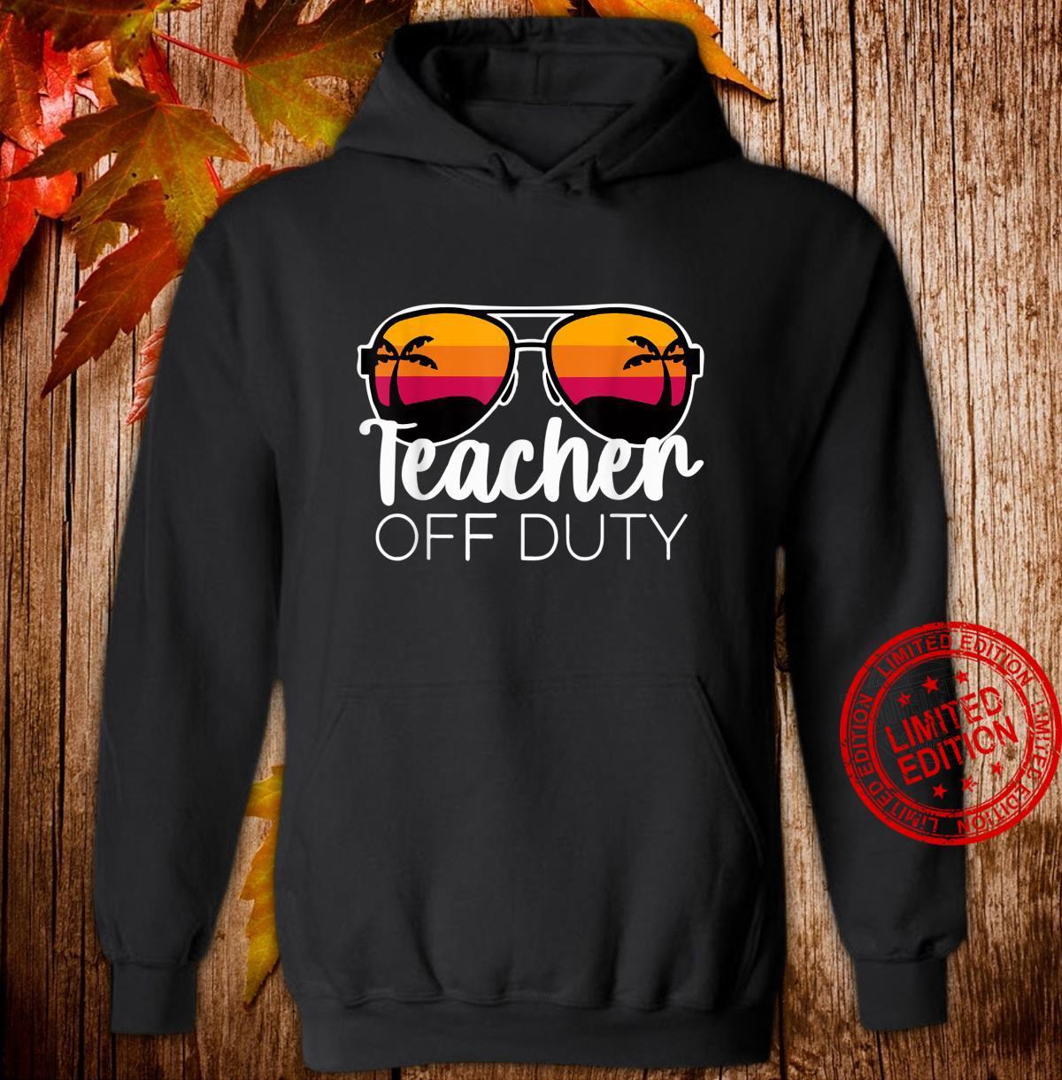 Teacher of Duty For Teacher, Teacher Week Shirt hoodie