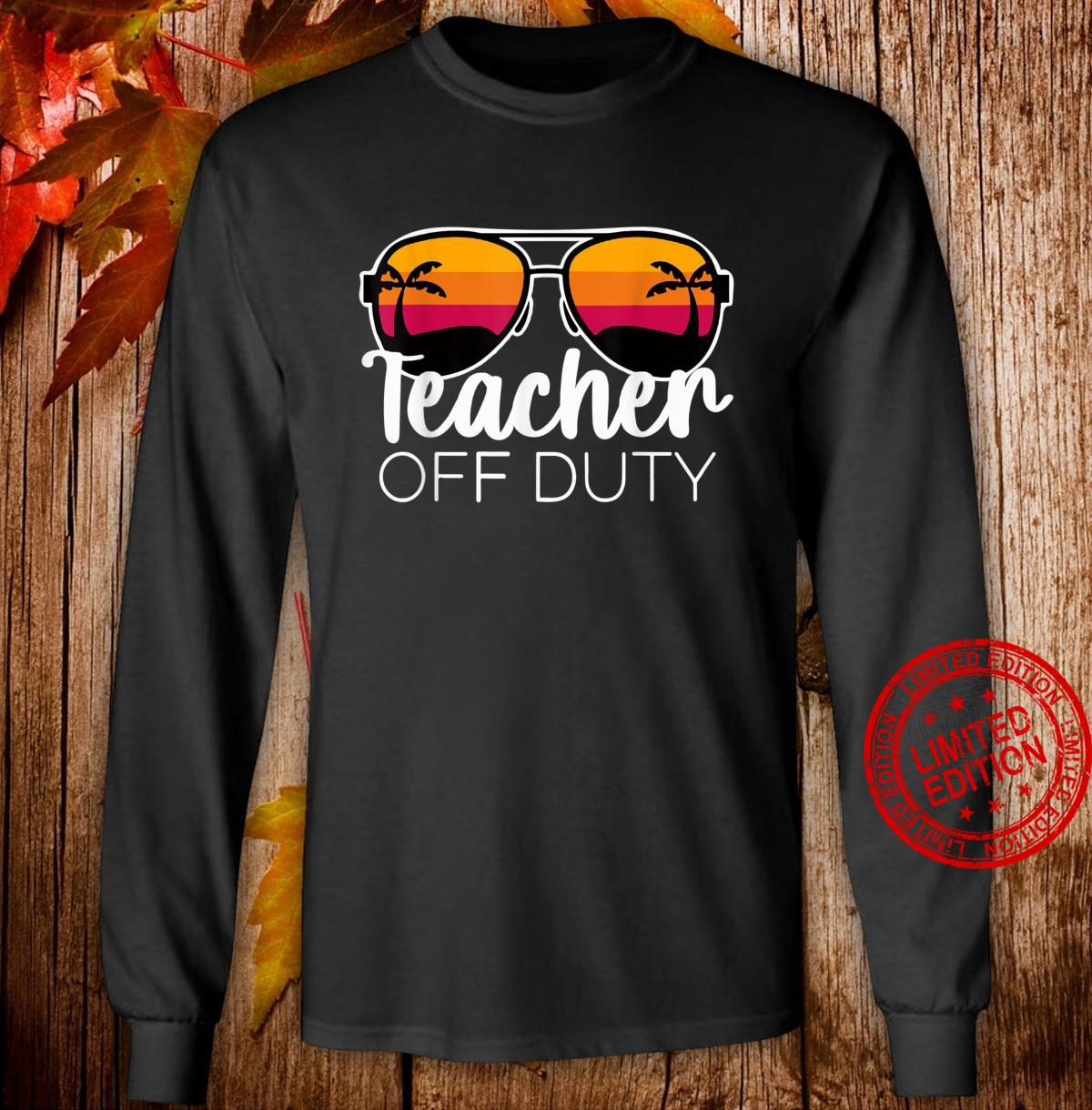 Teacher of Duty For Teacher, Teacher Week Shirt long sleeved