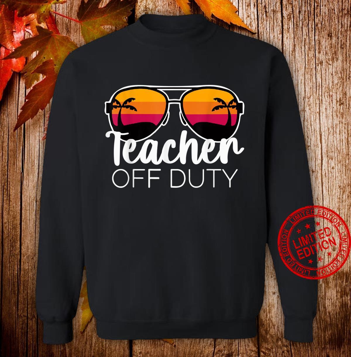 Teacher of Duty For Teacher, Teacher Week Shirt sweater