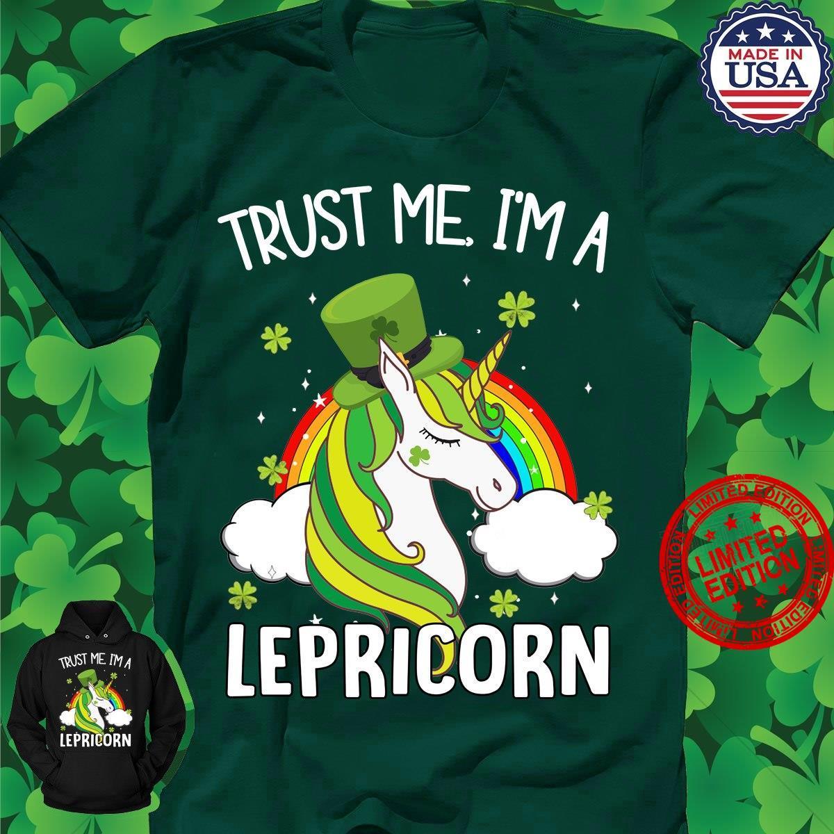 Trust Me I'm A Lepricorn Shirt