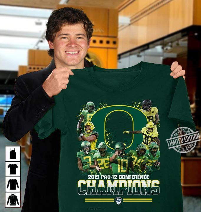 2019 Pac-12 Conference Champions Shirt