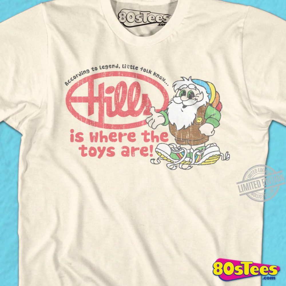 According To Legend, Little Tolk Know Hills Is Where The Toys Are Shirt
