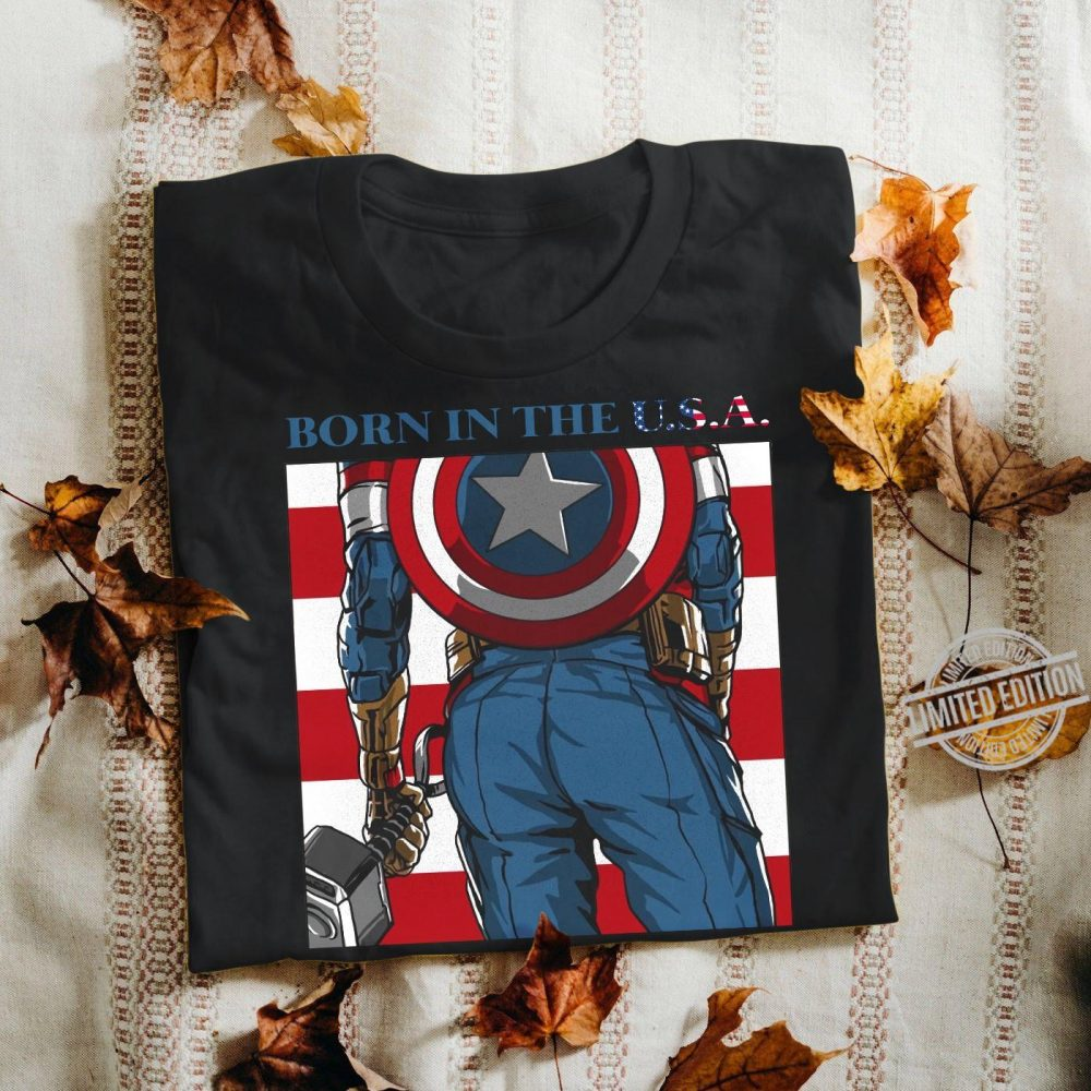 Born In The USA Captain Thor Shirt