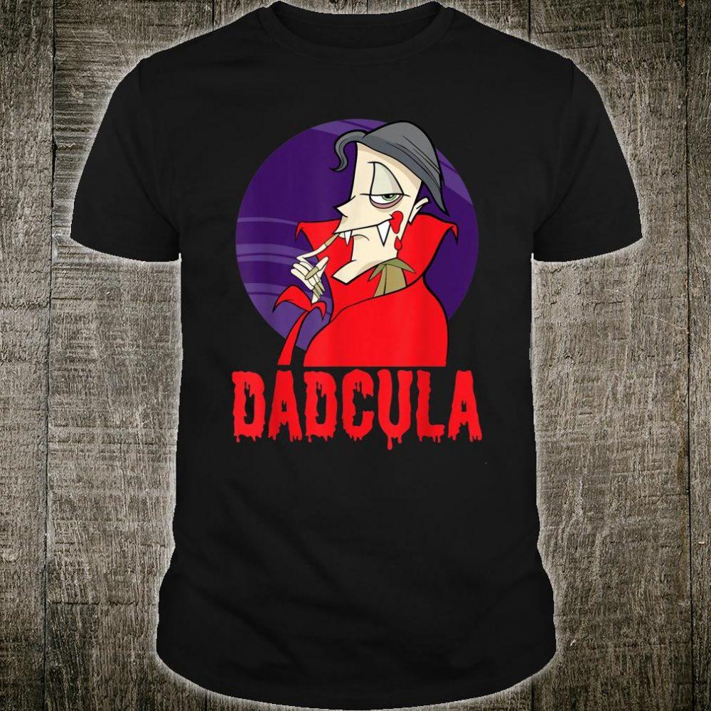 Dadcula daddy dad papa halloween shirt