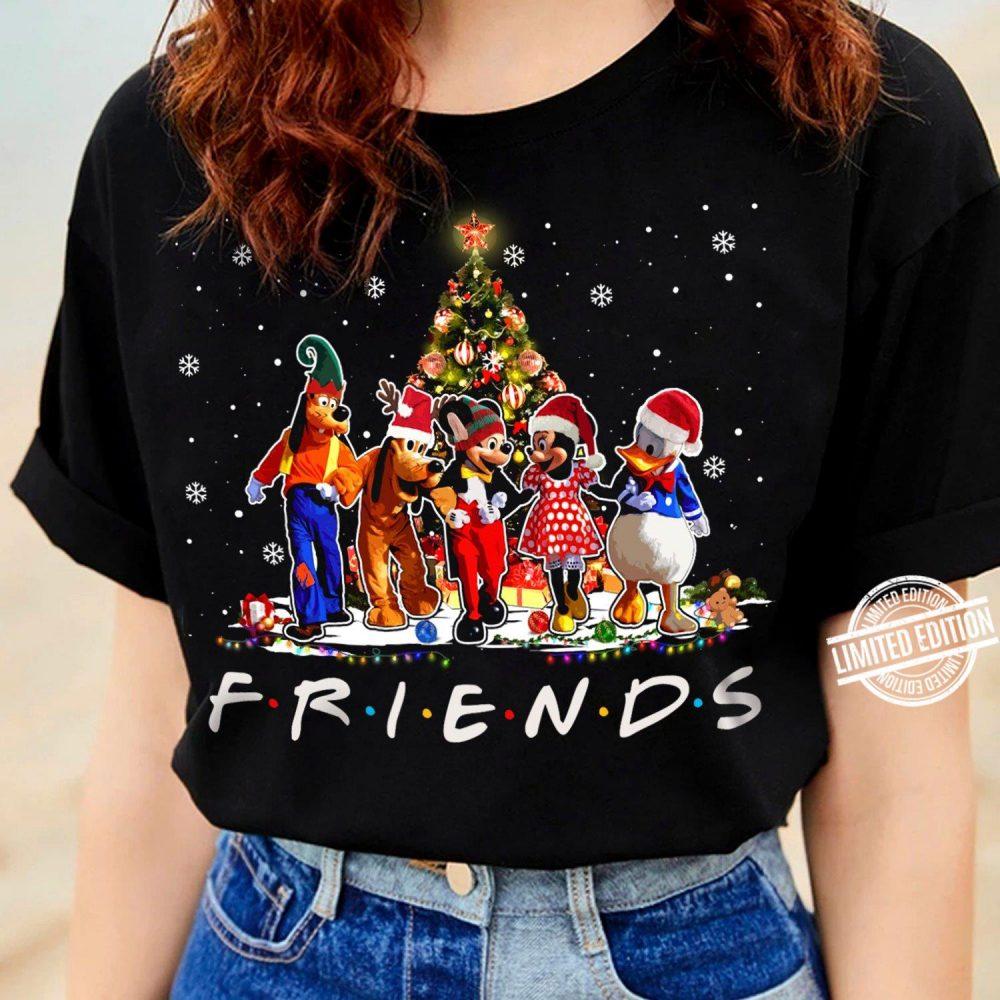 Disney Friends Merry Christmas Shirt