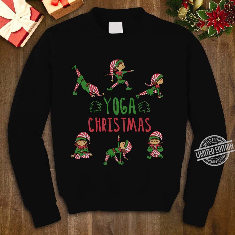 Elf Yoga Christmas Shirt