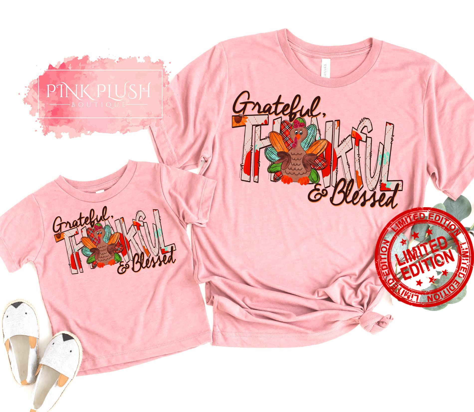 Grateful Thankful & Blessed Shirt