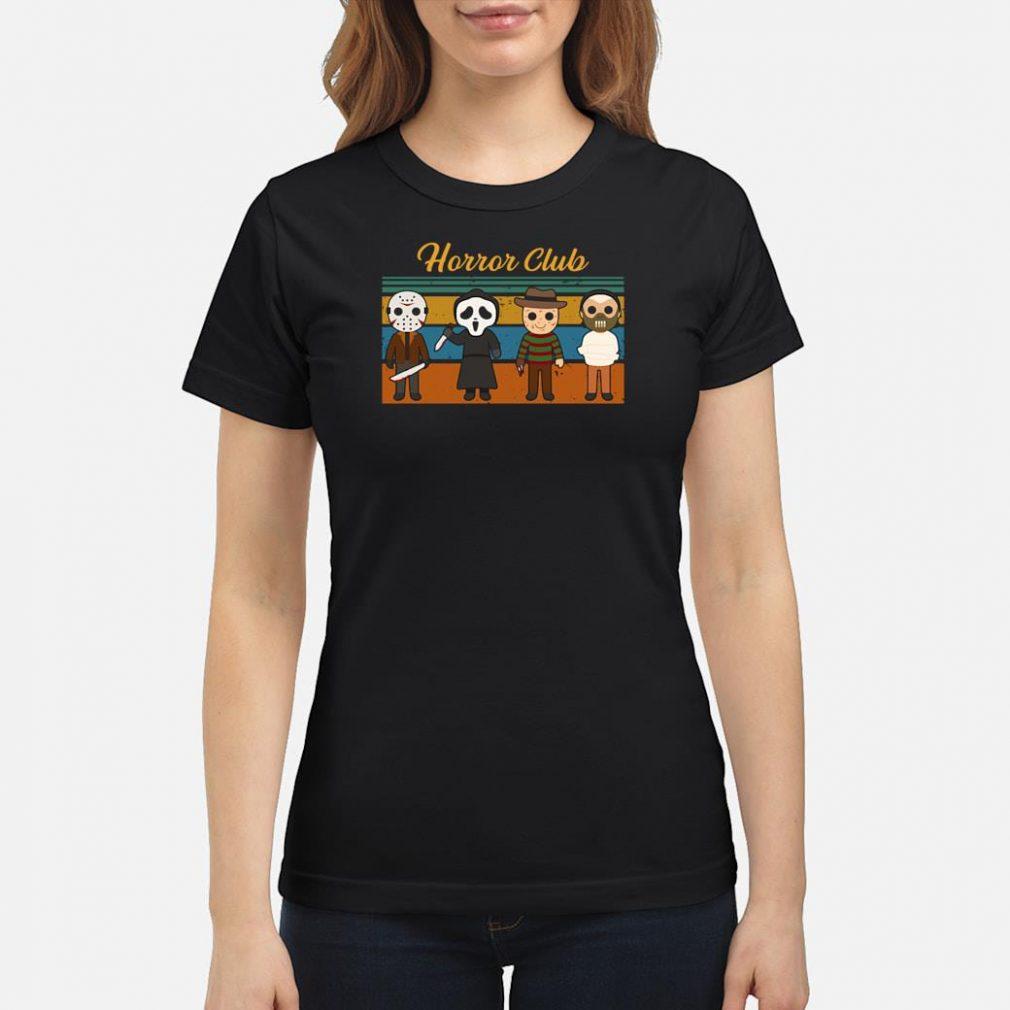 Horror Club shirt ladies tee