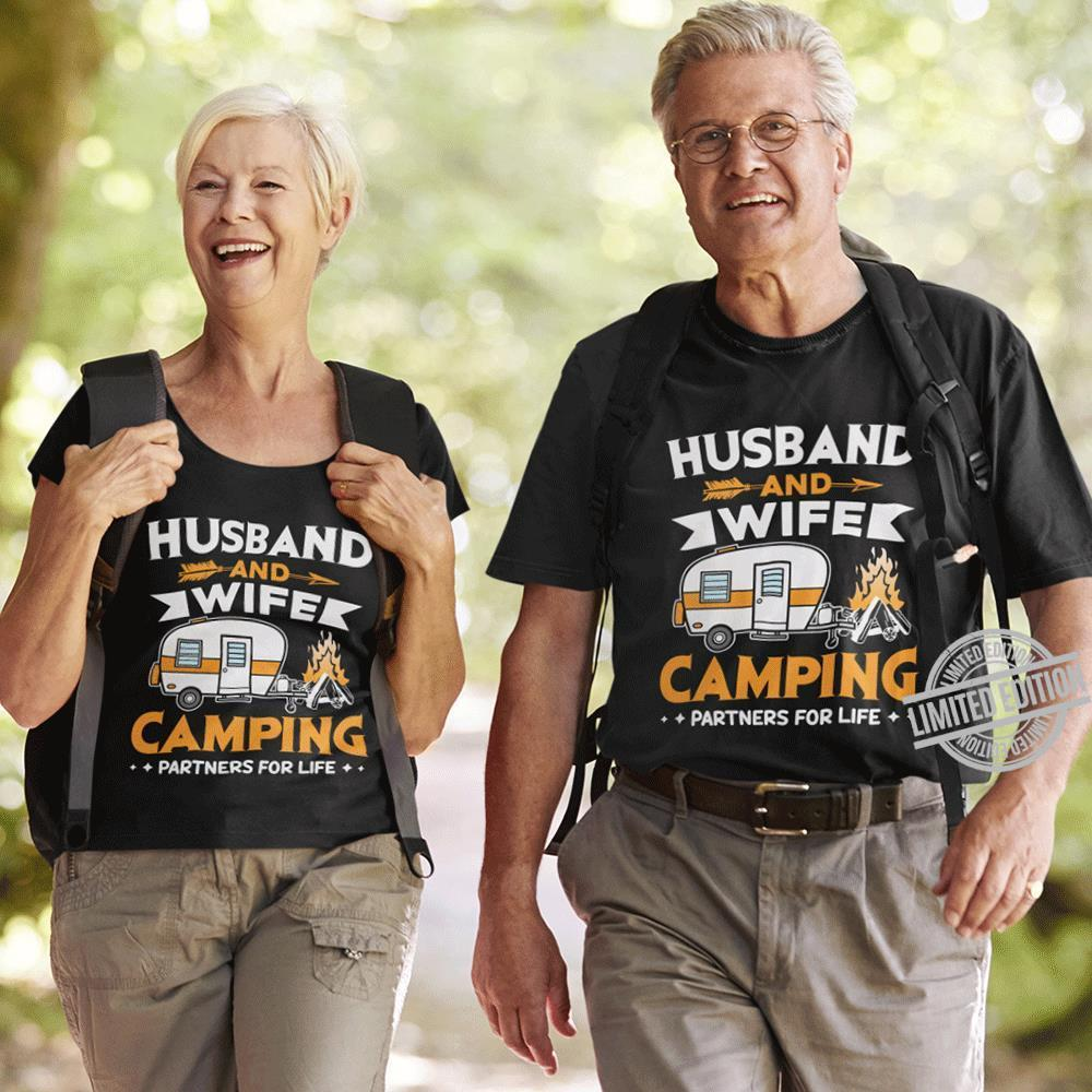 Husband And Camping Partners For Life Shirt