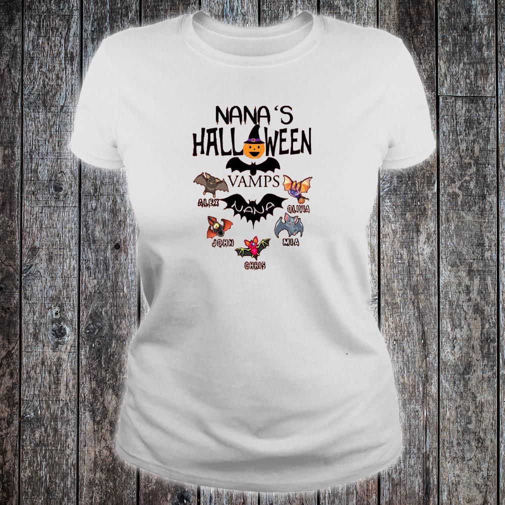 Nana's Halloween vamps shirt ladies tee
