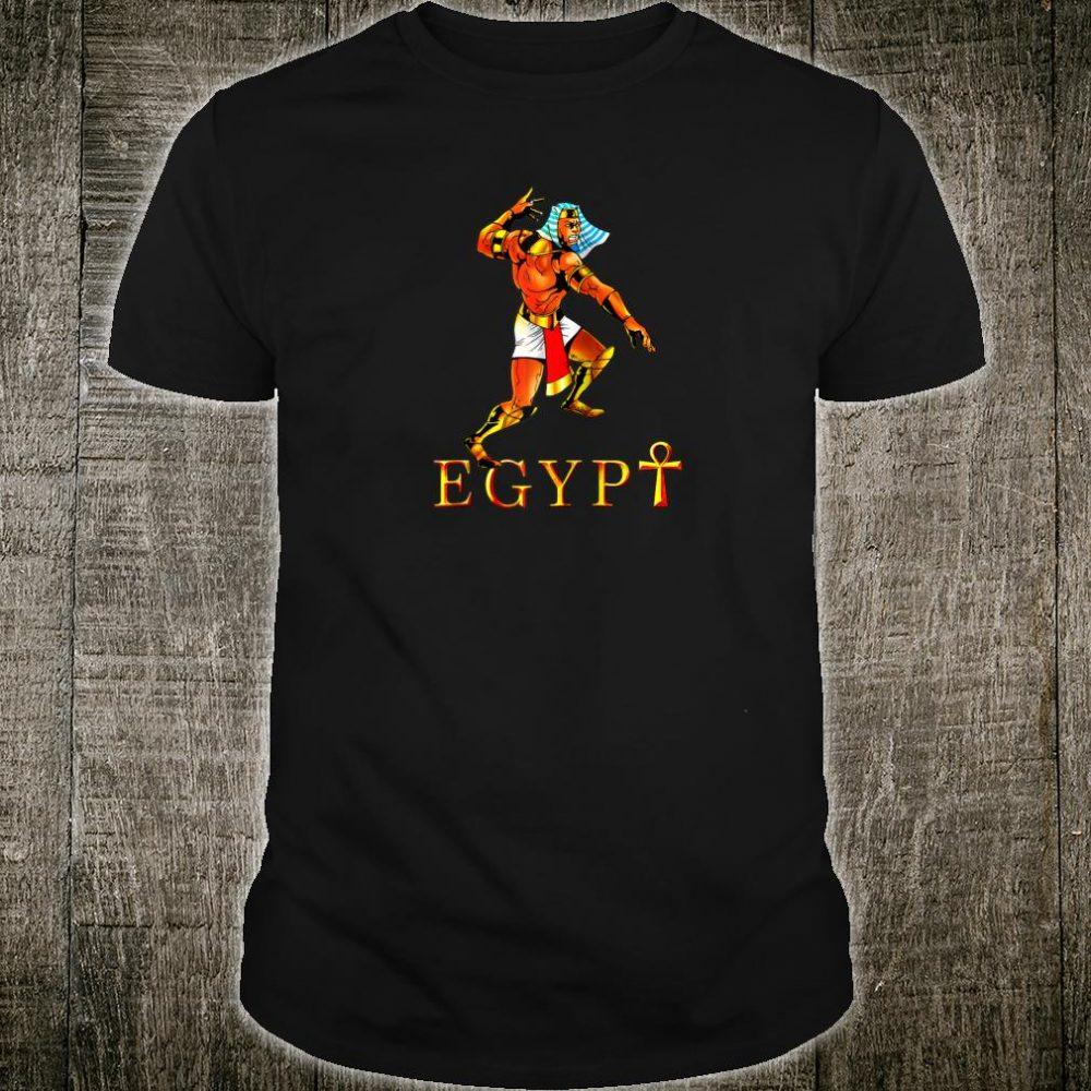Pharaoh pyramids sphinx shirt