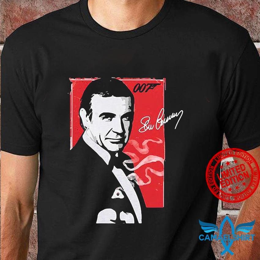 Rip 1930-2020 Sean Connery James Bond 007 shirt