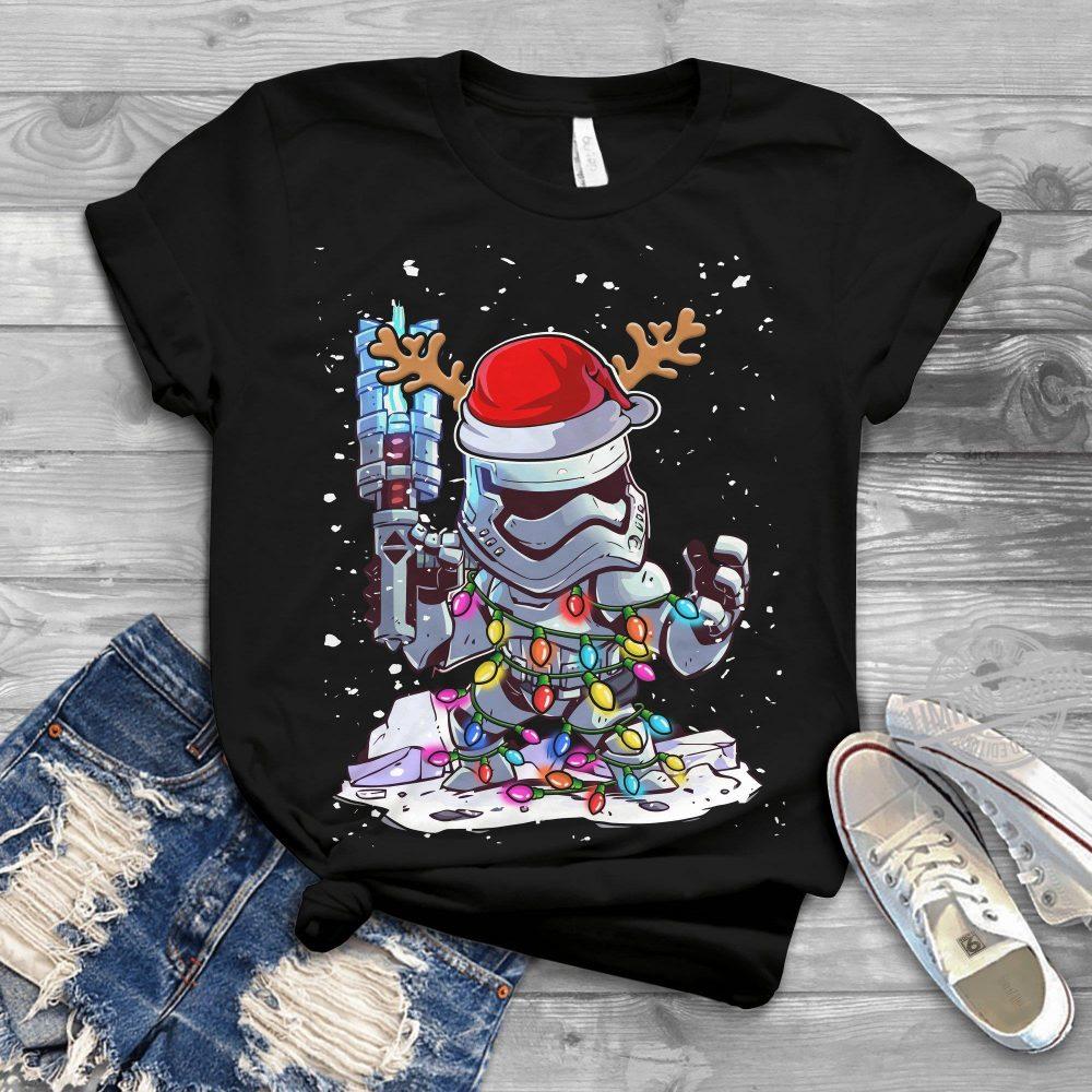 Star Wars FN-3181 Christmas Light Shirt
