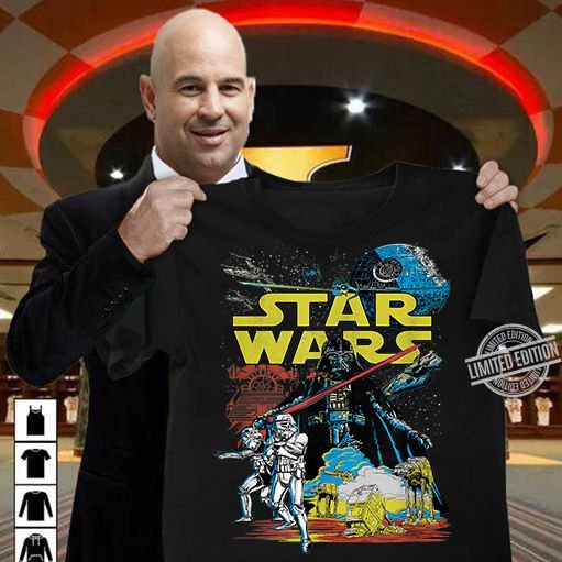 Star Wars Men's Vintage Victory Graphic Shirt
