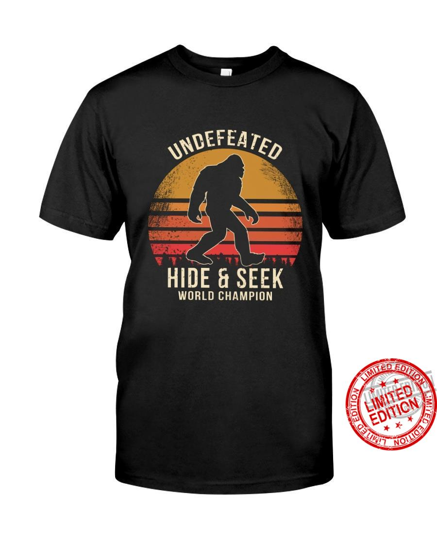 Undefeated Hide & Seek World Champion Shirt