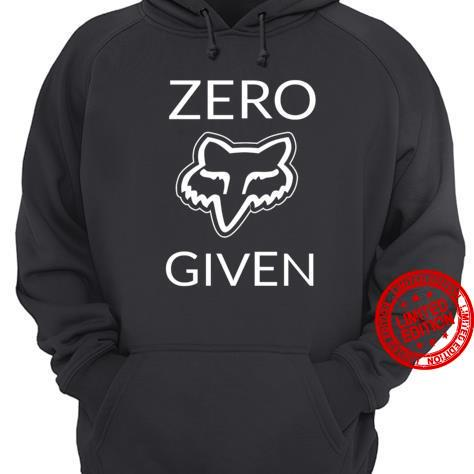 Zero Given Fox Racing Shirt